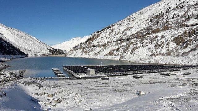 Lac des Toules víztározó